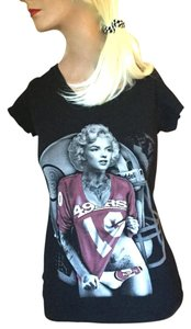 ejel Memorabilia Collectable T Shirt Black, White, Brown, Ivory, Rust