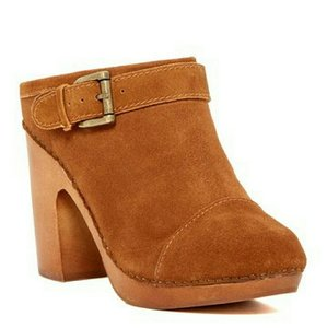 Jeffrey Campbell Tan / Rust Mules