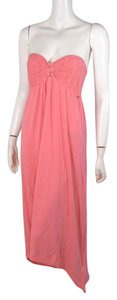 coral Maxi Dress by Roxy Maxi Strapless