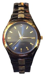 Alluve Gunmetal and gold watch