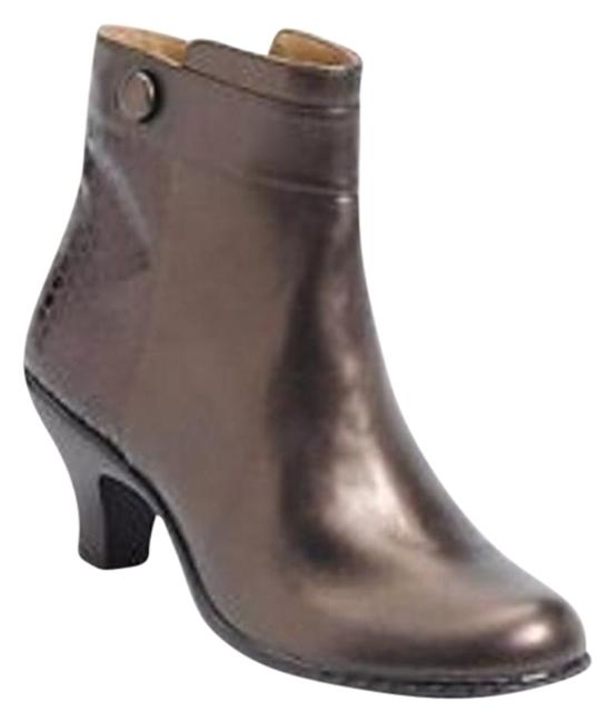 Item - Copper Sherry Boots/Booties Size US 6 Wide (C, D)
