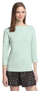 Kate Spade Saturday Slip Neck T Shirt Celadon