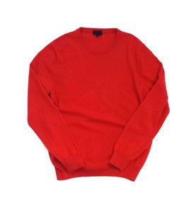 J.Crew Red Long Sleeve Cashmere Sweater