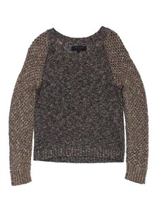 Rag & Bone Multi Color Open Knit Sweater