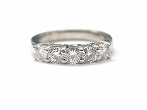 Other Fine Round Brilliant Anniversary Diamond Band Wg .95ct