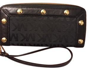 Michael Kors Michael Kors Delancy ZA Continental Black Wallet