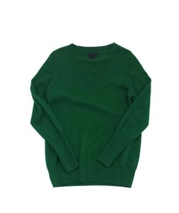 J.Crew Green Cashmere Sweater