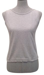 Joan Vass Top Light Gray
