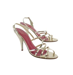 Kate Spade Gold Strappy Heels Sandals