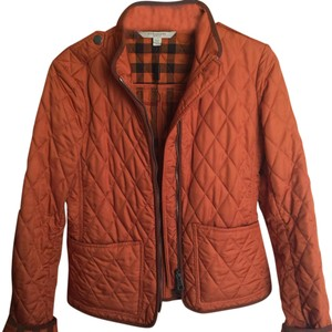 Burberry Brit Burnt Orange Jacket