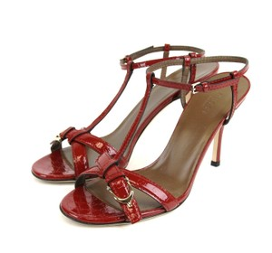 Gucci Micro Gg Red Sandals