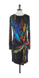 Ted Baker short dress Multi Color Print Long Sleeve on Tradesy
