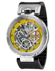 Stührling Stuhrling Men's 324.331665 Emperor Vortex Automatic Skeleton Watch