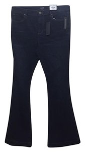 a.n.a. a new approach Boot Cut Pants Enticing indigo wash