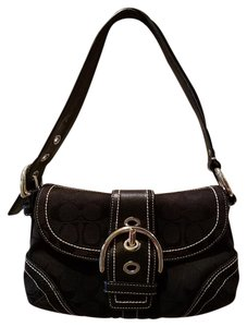 Coach Soho Soho Small Signature Canvas Hobo Bag