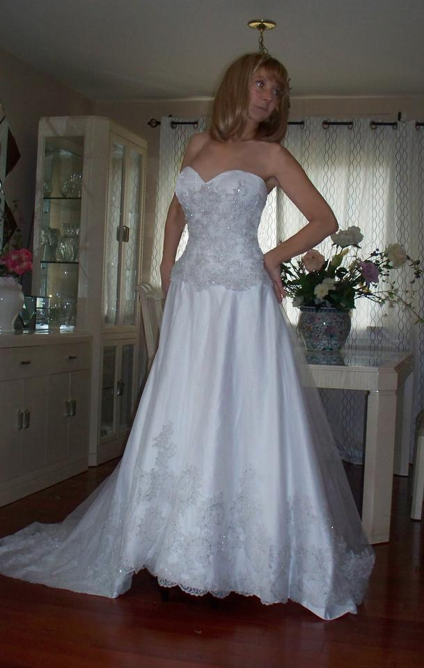 Alfred angelo winter sale wedding dress on sale 87 off for Winter wedding dresses for sale