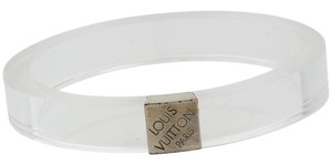 Louis Vuitton Clear lucite Louis Vuitton Nightclub Monogram bangle bracelet