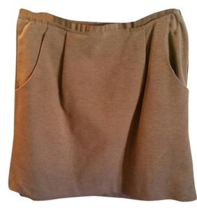 Banana Republic Mini Mini Skirt Tan