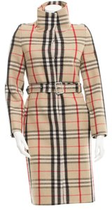 Burberry Longsleeve Nova Check Trench Coat