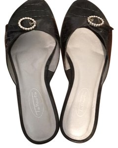 Talbots Sparkle Formal Black Flats