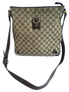 Gucci Crossbody Crossbody Beige Brown Shoulder Bag