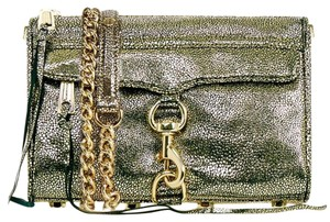 Rebecca Minkoff Animal Print Leather Cross Body Bag