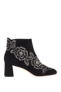 Sophia Webster Leather Black/Gold Boots
