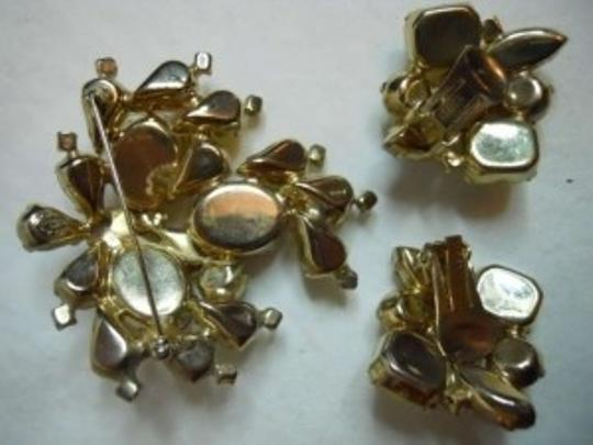 Kramer Vintage Kramer of New York Pin & earrings