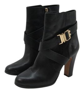 Vince Camuto Belted Bootie Leather Black Boots