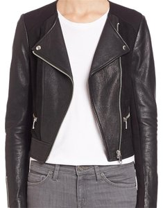 Joie Leather Moto Motorcycle Jacket