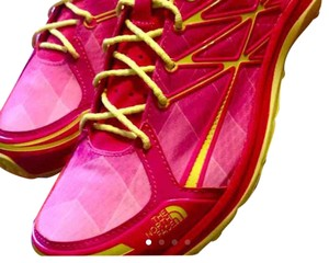 The North Face Pink & Yellow Athletic