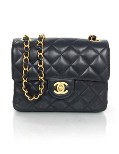 Chanel Lambskin Quilted Flap Cross Body Bag