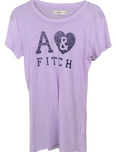 Abercrombie & Fitch T Shirt Purple