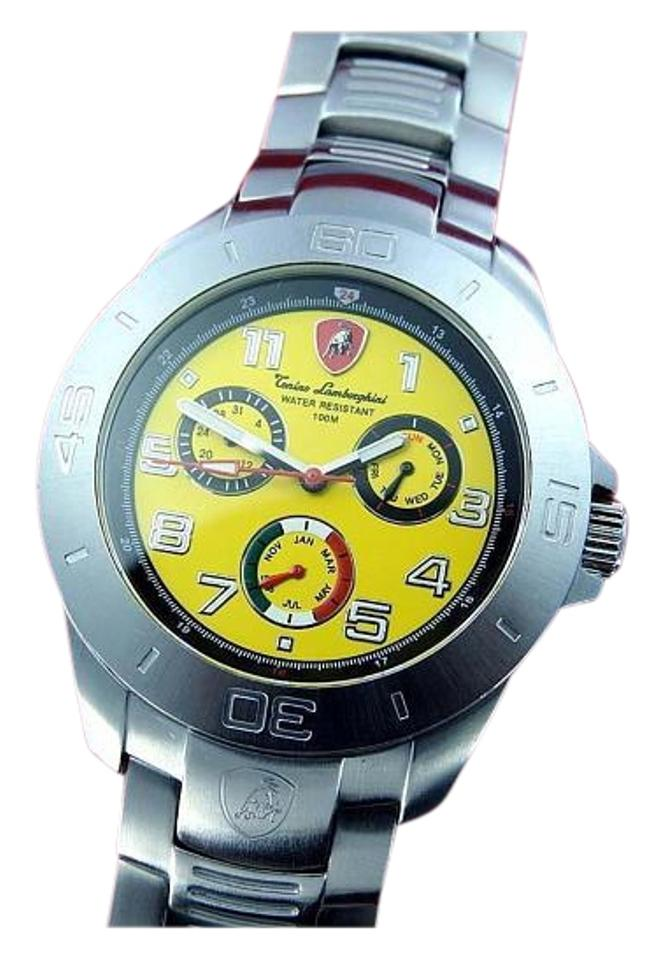 Silver Yellow Mens Limited Edition Watch Tradesy