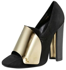 Saint Laurent Black/Gold Pumps
