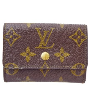 Louis Vuitton Porte monnaie plat Coin Case Wallet Monogram M61930 Mens