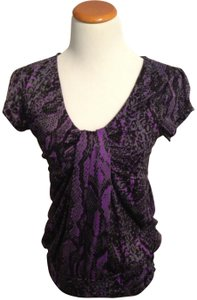 Miss Chievous Top Black, purple, grey