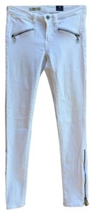 AG Adriano Goldschmied Distressed Stilt Skinny Jeans-Light Wash