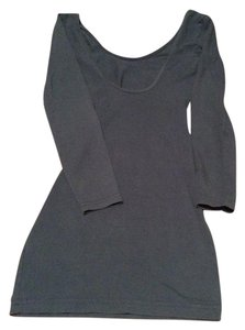 American Apparel short dress Blue Bodycon on Tradesy