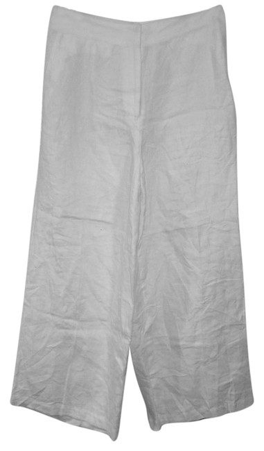 Item - White Linen Pants Size 6 (S, 28)