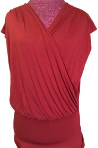 Ann Taylor Top Rust