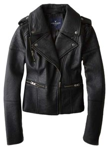 American Eagle Outfitters black Leather Jacket