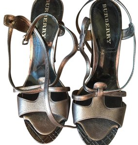 Burberry Gunmental gray Platforms