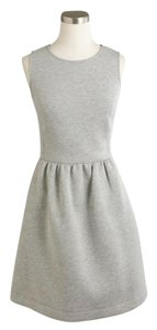 J.Crew short dress Light grey on Tradesy
