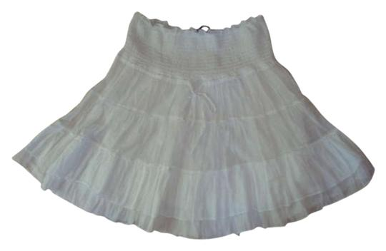 Guaze Tiered Mini Skirt 70% Off #197873 - Skirts outlet