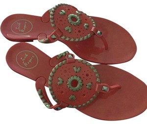 Jack Rogers Fire coral gold Sandals
