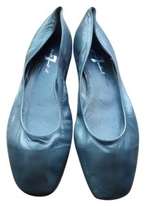 7 For All Mankind Like New Grey Leather Ballet Flats, Flats