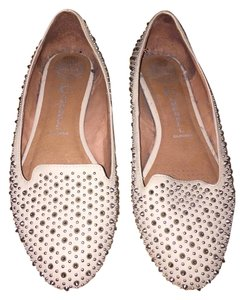 Jeffrey Campbell Studded Blush Flats