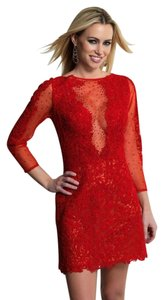 Dave & Johnny Homecoming Cocktail Fitted Dress