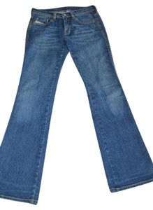 Diesel Size 26 Boot Cut Jeans-Medium Wash
